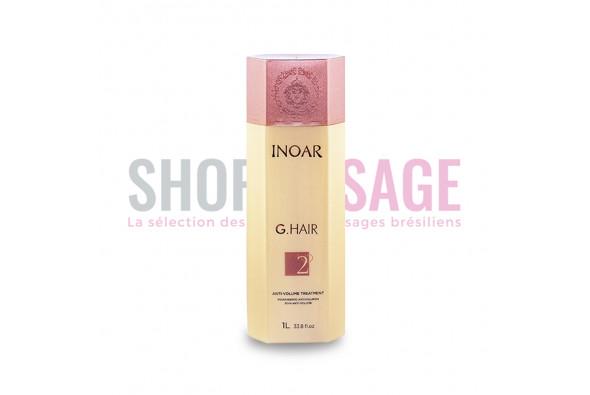 INOAR G Hair STEP 2 solo Lissage brésilien 1 litre