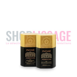 INOAR Marroquino kit lissage brésilien 2x250ml
