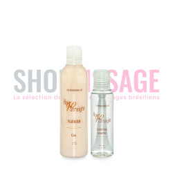 Hair Go Straight PLATINUM kit lissage brésilien 250ml