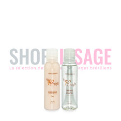 Hair Go Straight PLATINUM kit lissage brésilien 100ml