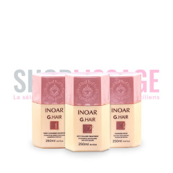 INOAR G Hair kit lissage brésilien 3x250ml