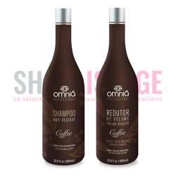 OMNIA COFFEE Lissage brésilien kit 2x1 litre