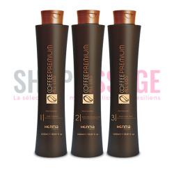 HONMA Tokyo Coffee Premium Lissage brésilien kit 3x1 L