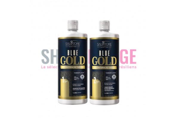 Lissage tanin SALVATORE BLUE GOLD Classic 2x1 L