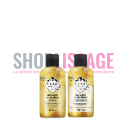 MAIS QUE NECESARIO Shampoing + Conditionner 2X300ml