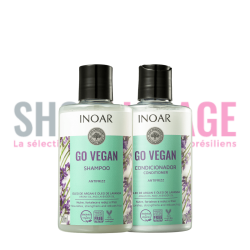 INOAR GO VEGAN Anti-frizz Duo 2X300ml