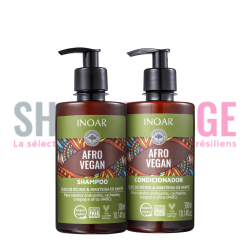INOAR AFRO Vegan Duo 2X300ml