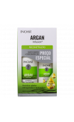 INOAR ARGAN Infusion Kit 500+250ml Reconstructeur