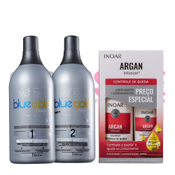 Lissage Tanin Salvatore + kit INOAR Argan Infusion