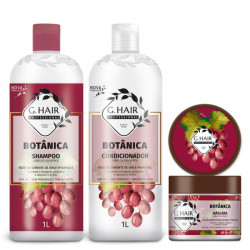 BOTANICA COLORIDOS Shampoing+Conditionner +Masque 500gr