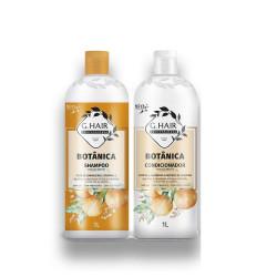 BOTANICA MIXTE Kit Shampoing et conditionner 1 L