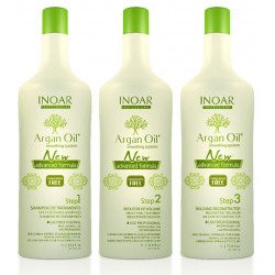kit Inoar Argan Oil 3x1 litre